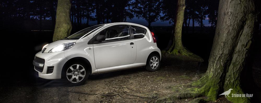Lightpainting-Peugeot